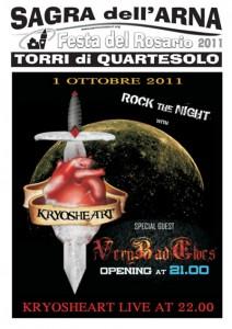 KRYOSHEART live @ Sagra di Torri di Quartesolo 2011
