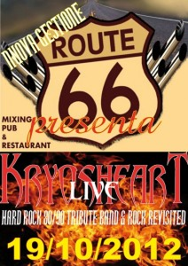 KRYOSHEART live @ Route 66