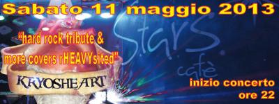 KRYOSHEART live @ Starscafè