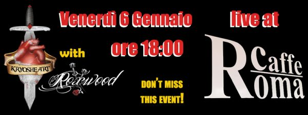 Kryosheart live @ Caffè Roma (Magrè)