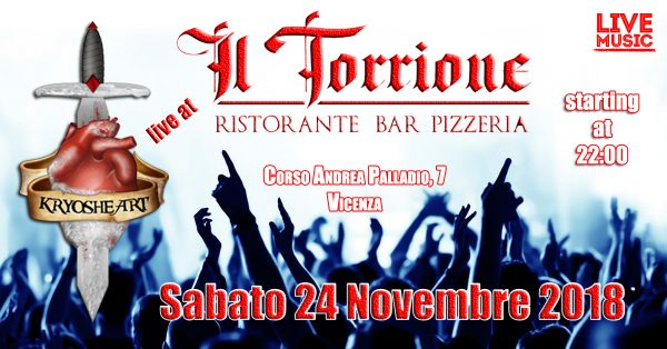 Kryosheart live @ Il Torrione