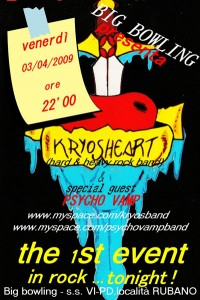 KRYOSHEART live @ BIG Bowling