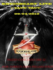 KRYOSHEART live @ Tacu Tacu Music Club