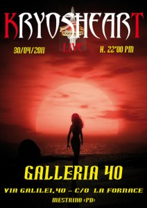 KRYOSHEART live @ Galleria 40