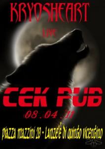 KRYOSHEART live @ Cek Pub