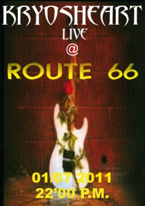 KRYOSHEART live @ Route 66